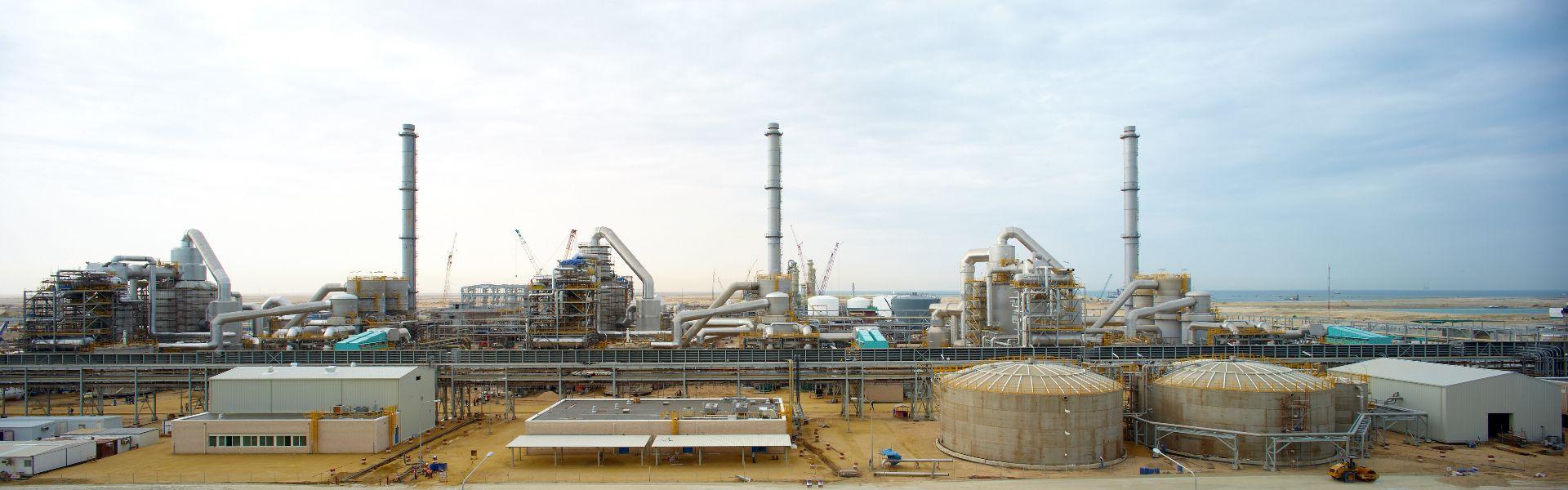 GAMA Endüstri | Ma'aden Sulphuric Acid Plant |